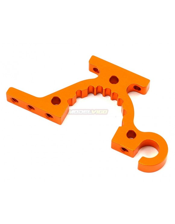 T4'15 ALU LOWER ADJUSTMENT BULKHEAD - FRONT R / REAR L - ORANGE
