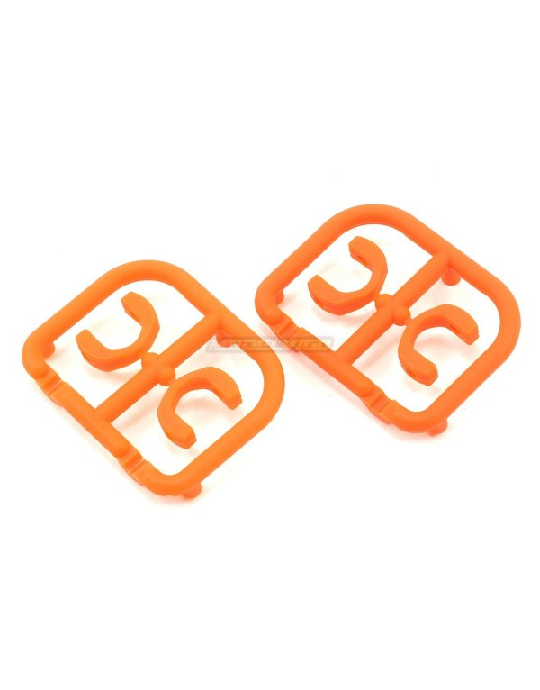 DRIVE SHAFT REPLACEMENT PLASTIC CAP 3.5 MM - ORANGE - STRONG (4)