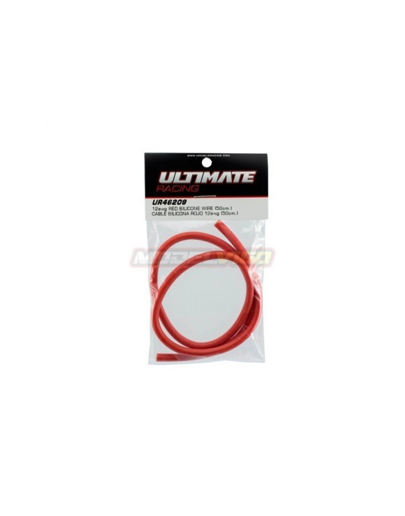 CABLE SILICONA ROJO 12AWG ULTIMATE RACING