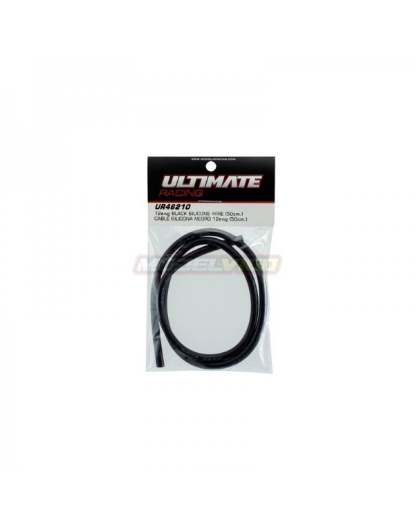 CABLE SILICONA NEGRO 12AWG ULTIMATE RACING