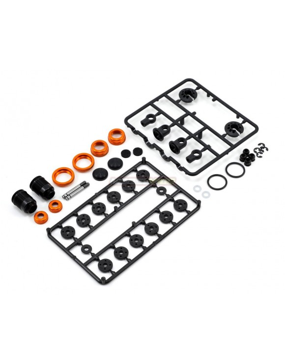 T4 ALU SHOCK ABSORBER-SET - ORANGE (2)