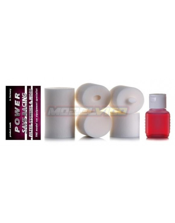 FILTROS DE AIRE+ACEITE POWER SAVE MUGEN MBX8/7