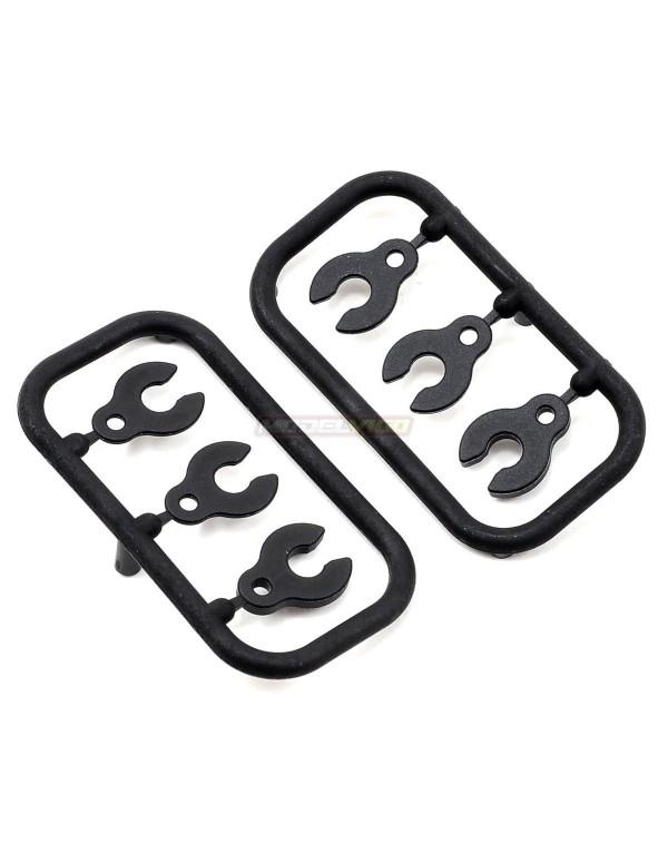 XB8 CASTER CLIPS (2)