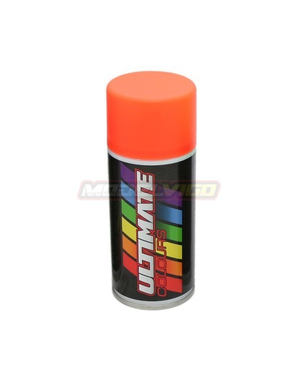 SPRAY NARANJA FLUORESCENTE 150 ml ULTIMATE RACING