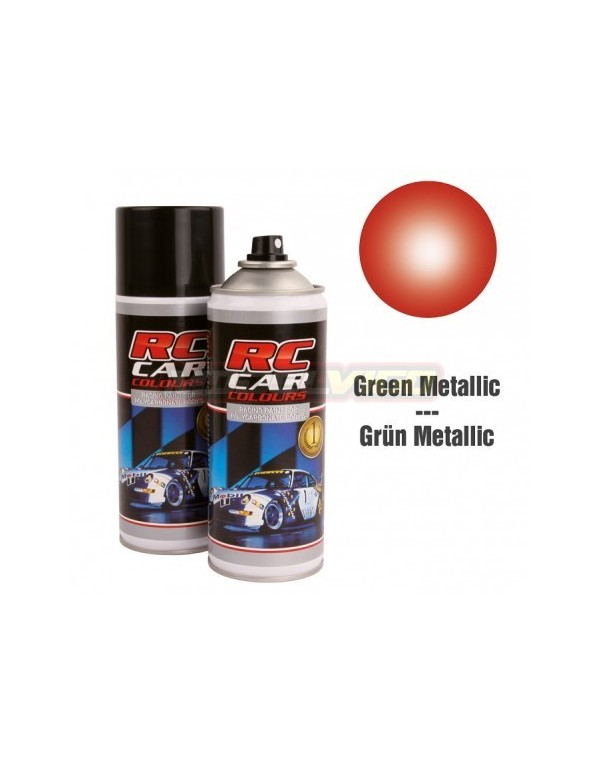 SPRAY RC CAR COLOURS ROJO METALIZADO