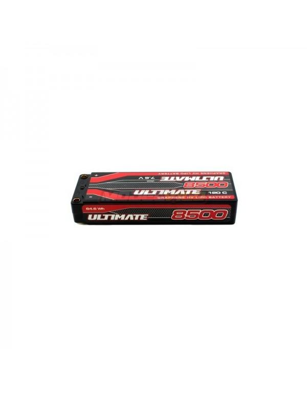 BATERÍA ULTIMATE GRAFENO HV LiPo STICK 7.6v. 8500mAh 120C CONEXION 5mm