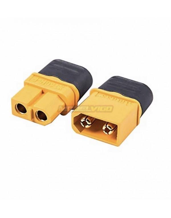 CONECTOR XT60 CON CASQUILLO (2uni)