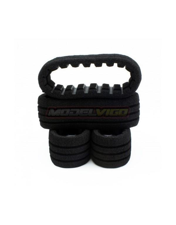 MOUSSE PROCIRCUIT CLOSED CELL XL NEGRO (4u.)