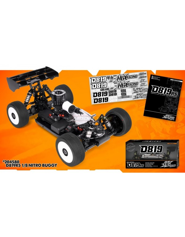 HOT BODIES D819RS OFF ROAD BUGGY KIT NITRO