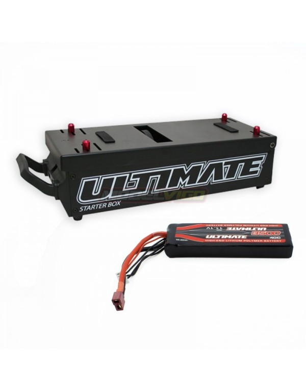 COMBO MESA DE ARRANQUE ULTIMATE + BATERIA 11.1V 3500MAH 40C ULTIMATE RACING