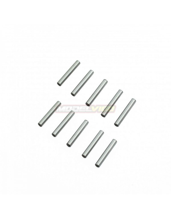 2.5X14.8 MM KIT PINS ACERO CROMADO (10U.)