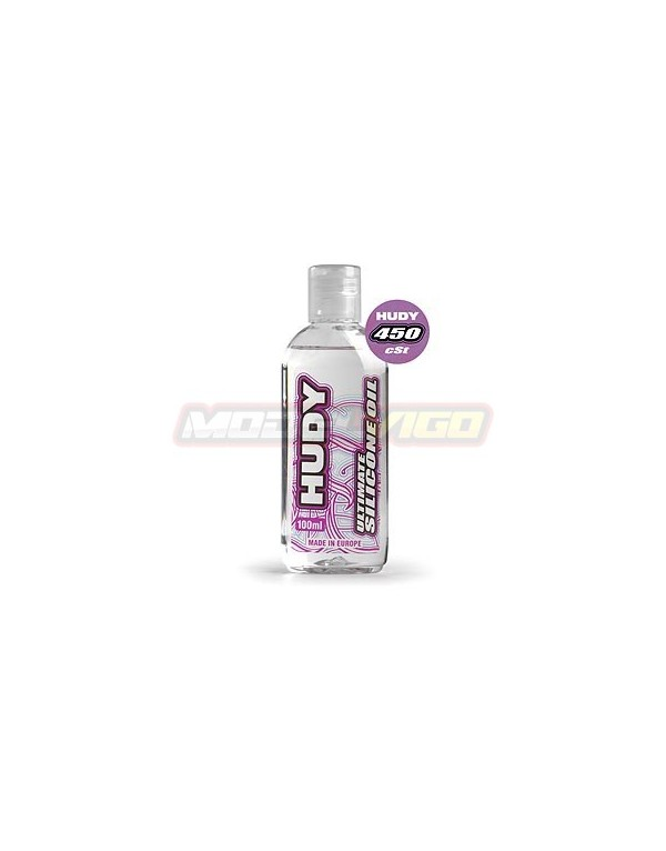 ACEITE SILICONA  HUDY 450 cSt - 100ML