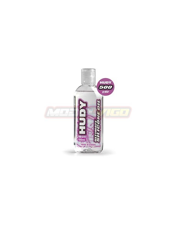 ACEITE SILICONA HUDY 500 cSt - 100ML