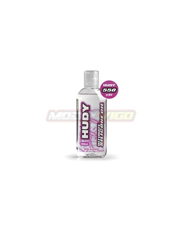 ACEITE SILICONA  HUDY 550 cSt - 100ML