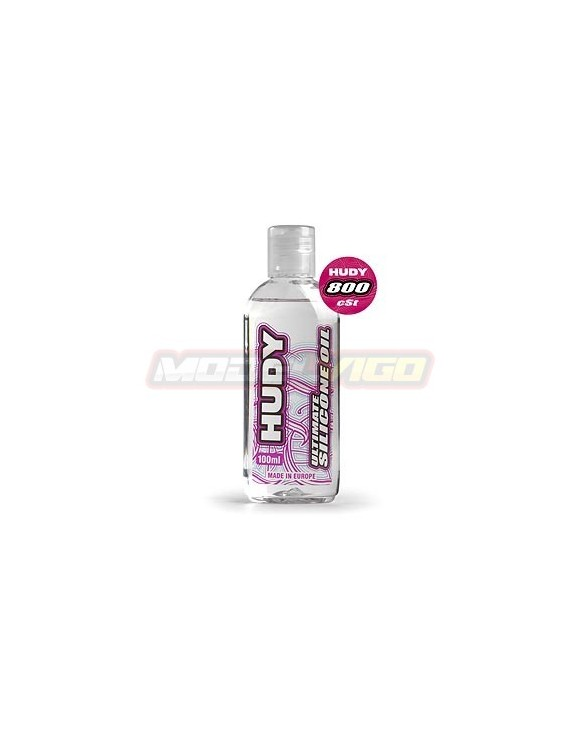 ACEITE SILICONA  HUDY 800 cSt - 100ML