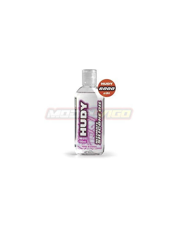 ACEITE SILICONA  HUDY 6000 cSt - 100ML