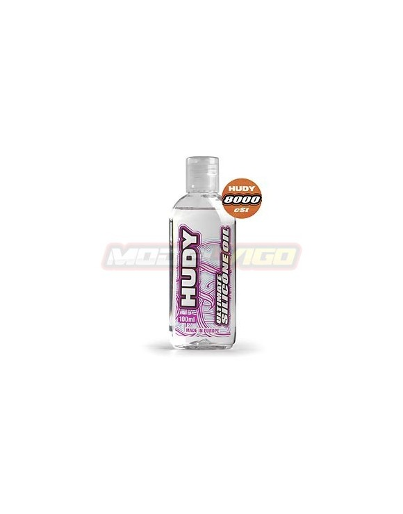 ACEITE SILICONA  HUDY 8000 cSt - 100ML