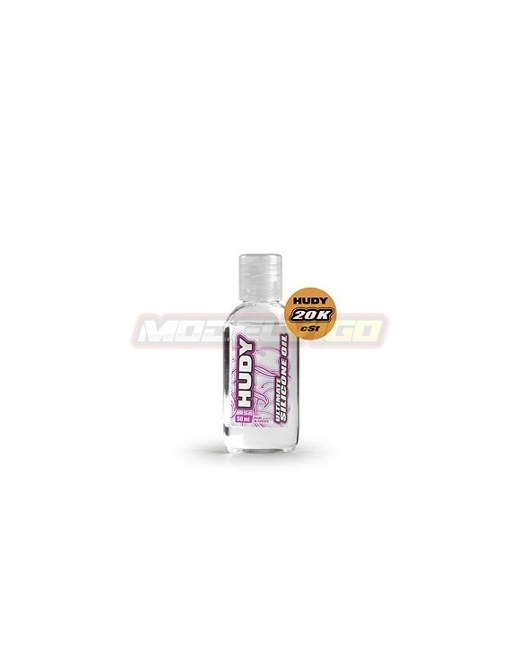 ACEITE SILICONA  HUDY 20 000 cSt - 50ML