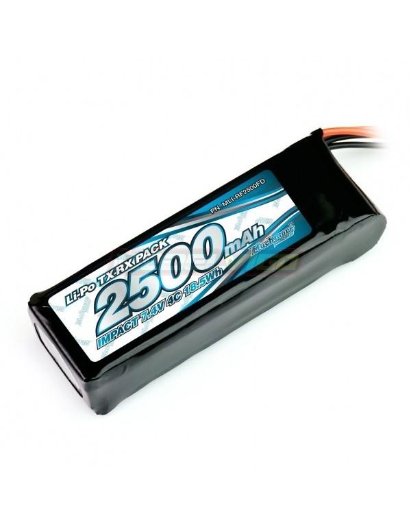 BATERIA PLANA MUCHMORE LIPO 2500MAH 7,4V