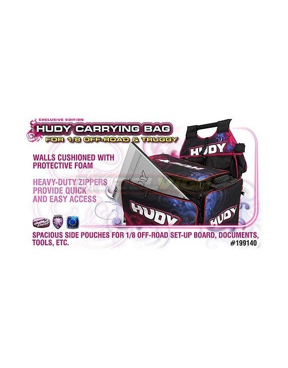 HUDY TRANSP. 1-8TT -TRUGGY + EXCLUSIVA