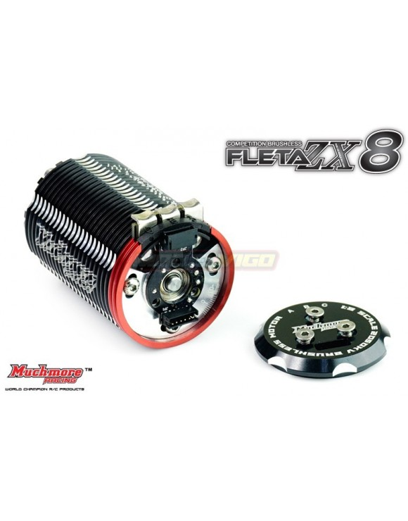 Muchmore FLETA ZX8 Competition 1-8th Scale Brushless Motor (1900kV